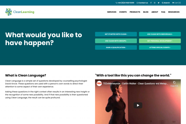 Clean Learning screenshot screenshot